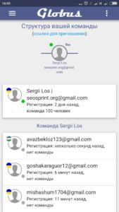 globus inter com 100 рефералов Глобус Интерком